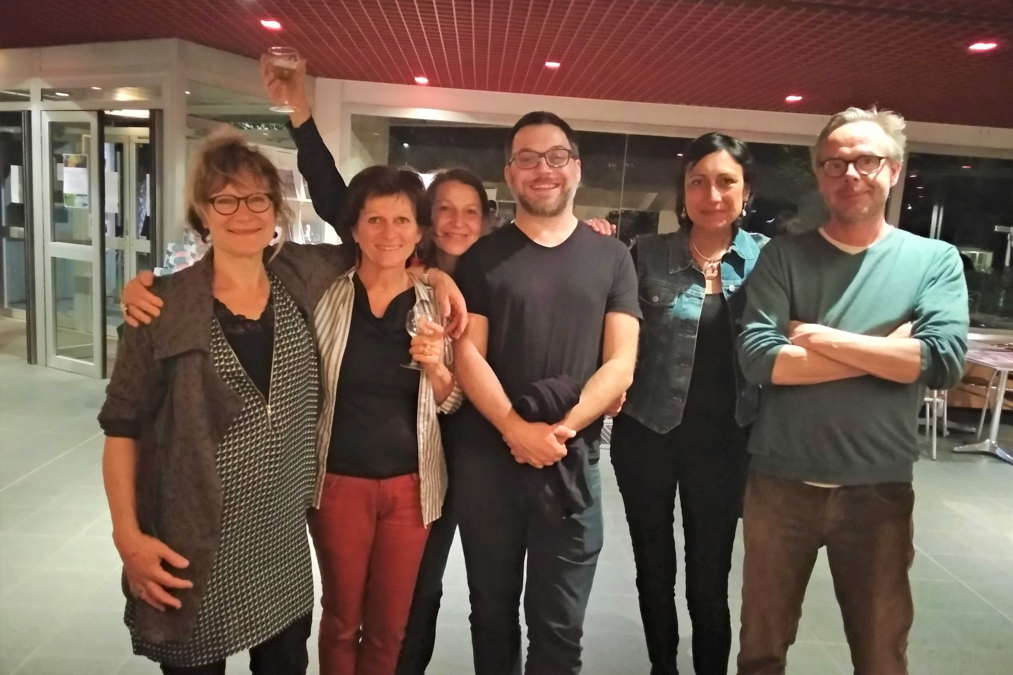 Professeurs et artistes intervenant dans les options théâtre