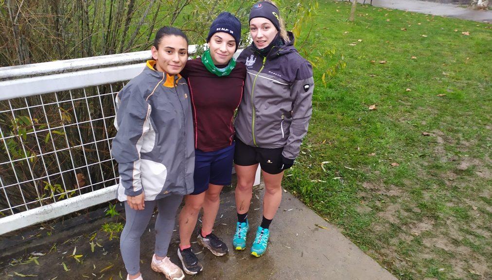 De la gauche vers la droite Melissa, Bérénice, Célya